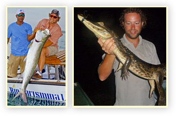 Tarpon and Crocodile hunting